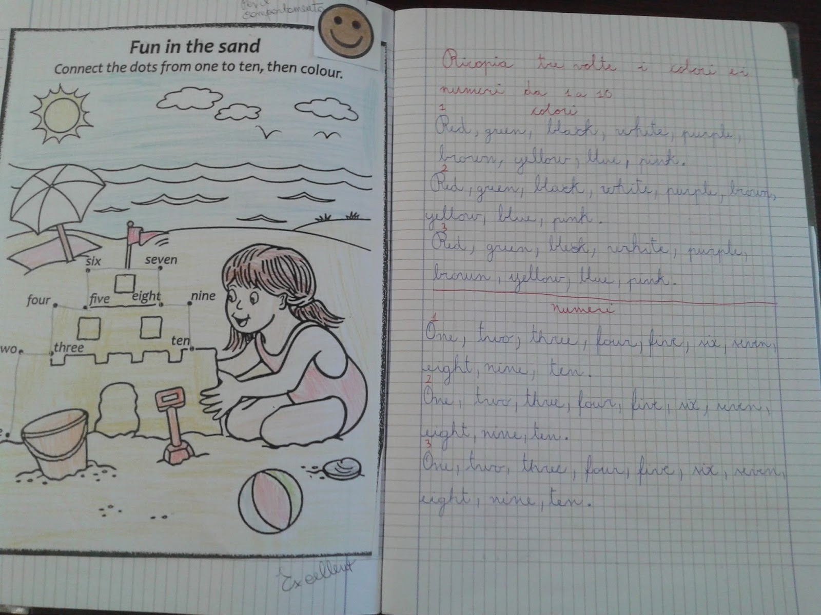 Extrêmement LA MAESTRA MARIA TI SALUTA: QUADERNO DI INGLESE CLASSE TERZA B KQ88