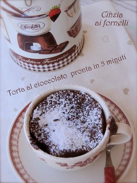 torta cioccolato in 5 minuti