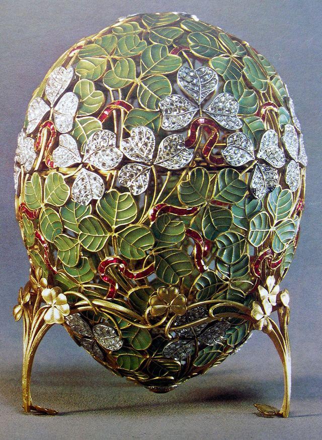 Faberžeova jaja - Page 5 Oeuf_aux_trefles+faberg%C3%A9+nicolas+II