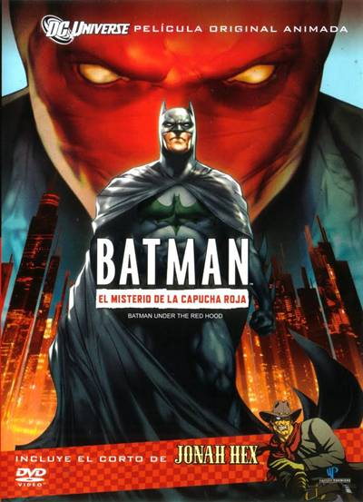 Batman El Misterio de Capucha roja [Under the Red Hood] 720p Dual Latino BRRip