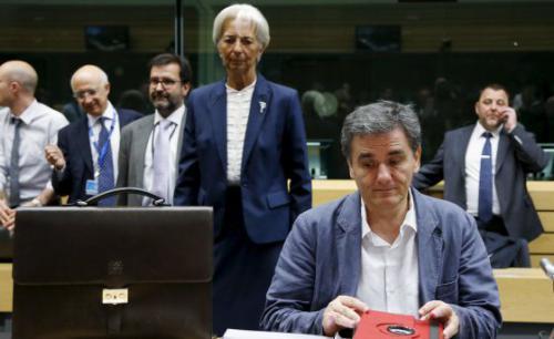 Lagarde, FMI, Tsakalotos,