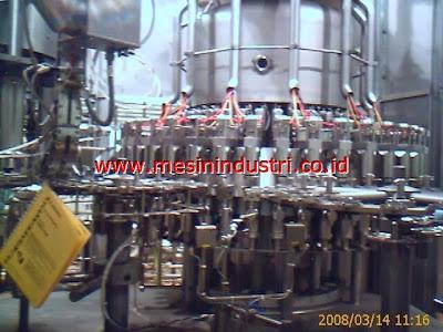 Jual mesin filling botol manual dan otomatis untuk industri minuman/beverages FILLER+AUTOMATION3