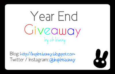 Year End Giveaway By Cik Bunny