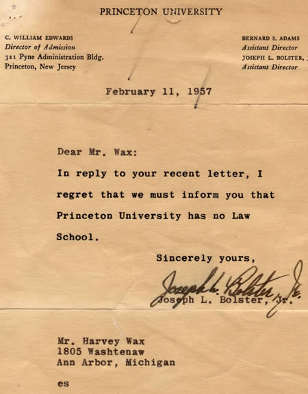 Sleuthsayers: Rejection Letters