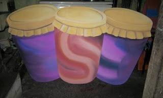 Styrofoam Gendang