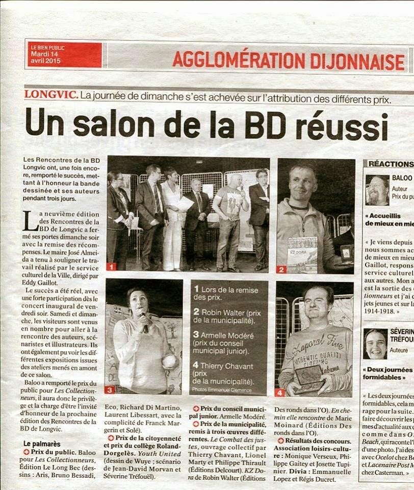 Rencontres bd longvic