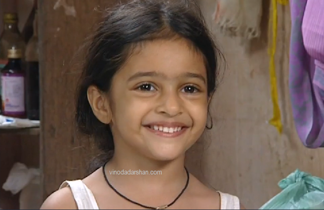 Akshara as Balachandrika -Daughter of Balan and Karthika in Karuthmuthu serial