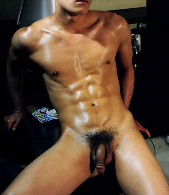 Chinese Male Nude Model