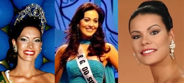 Misses Universo Brasil 2000,2001 e 2002