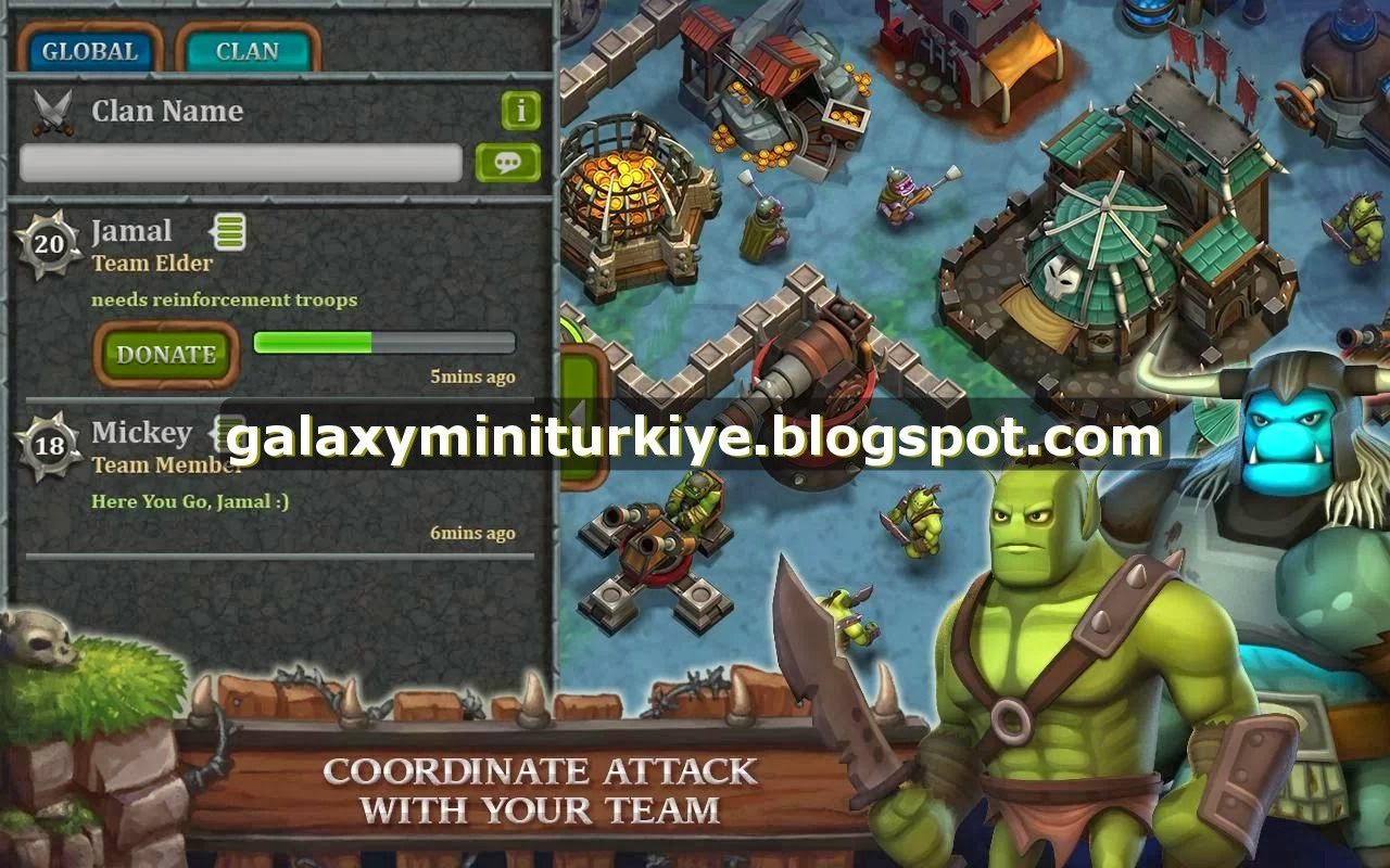 Clash Of Clans For Galaxy