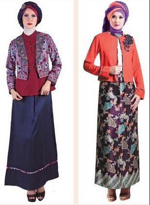 Trend Koleksi Baju Muslim Batik Remaja Untuk Lebaran