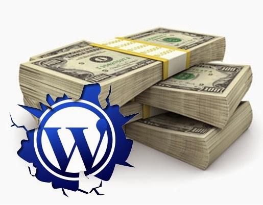 how to create money on WordPress