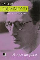 capa do livro a Rosa do povo, de Drummond
