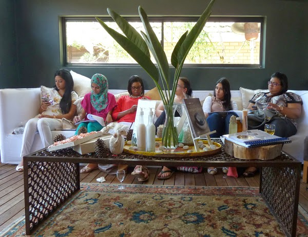 Durban Blogger Event by Rain Africa body products at Makaranga Garden Lodge