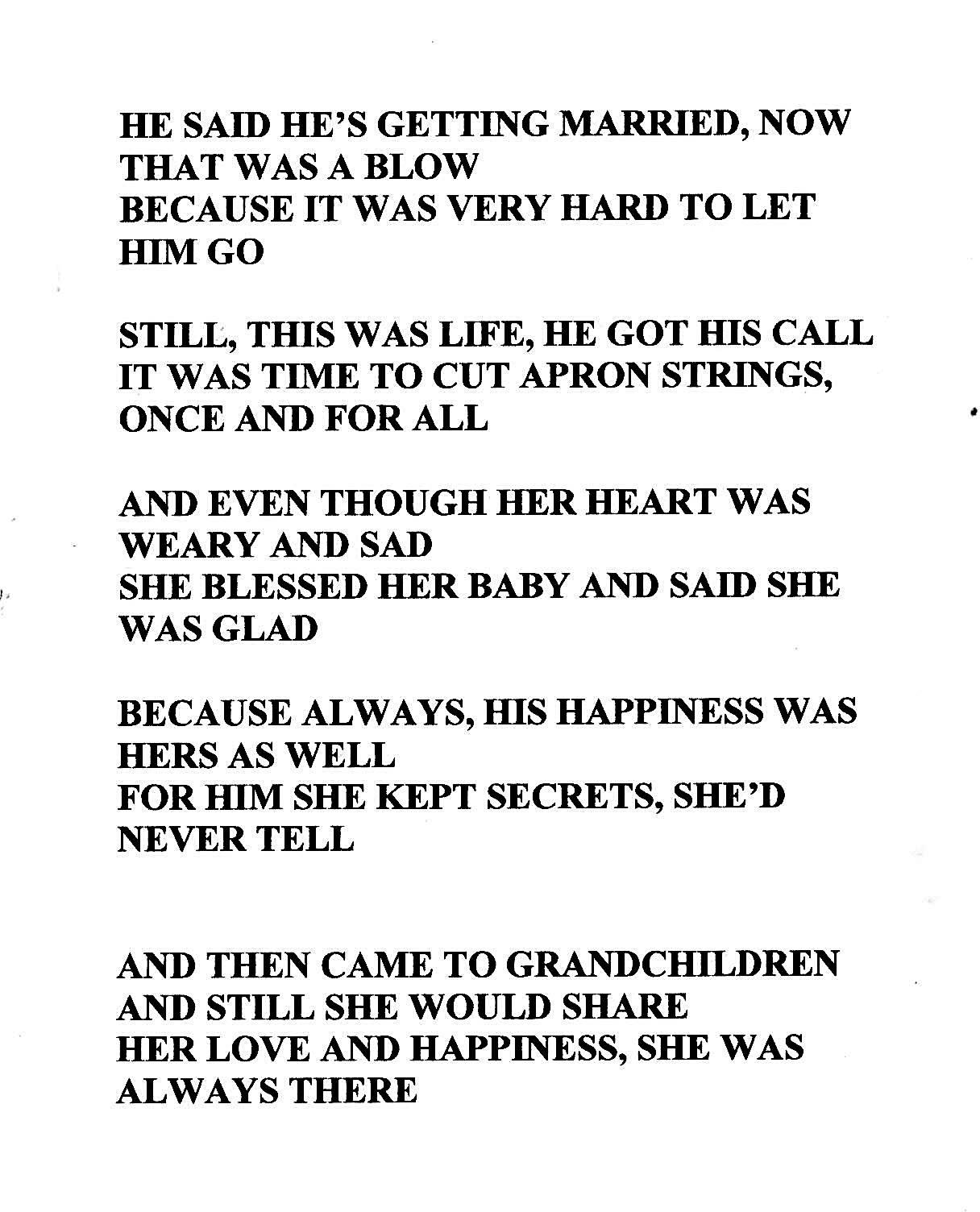 Tribute senior citizen poem   just b.CAUSE