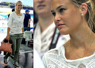 Bar Refaeli: Olympic Swimming Spectator » Gossip | Bar Refaeli