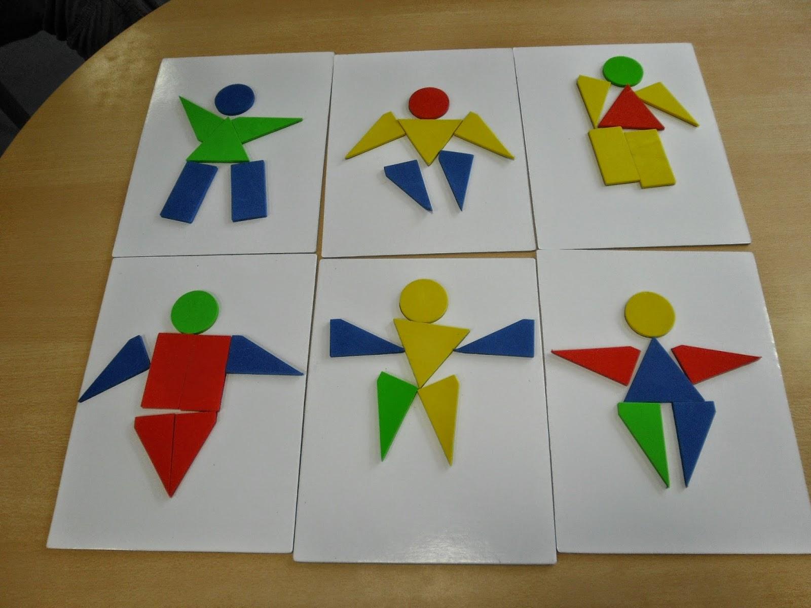 Groupe scolaire Jean Mineur: Construire le bonhomme chez les TPS/PS de Mme Harlaux