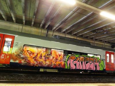 #TrainArt