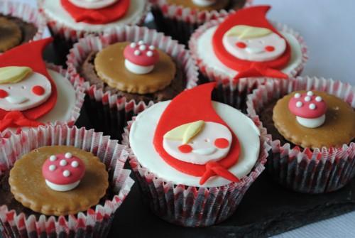 cupcakes thème chaperon rouge