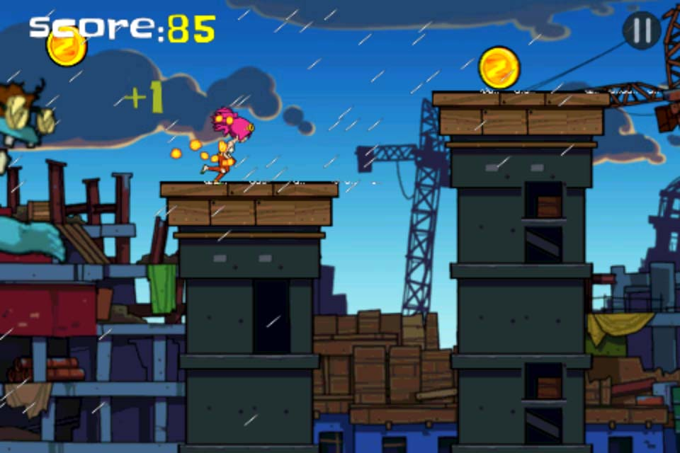 Zombie Parkour Runner Screenshot