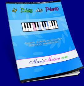 eCover 4 Dias de Piano.