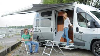TV Beitrag: Caravan Salon 2013: Sonnen-Terrasse am Rhein
