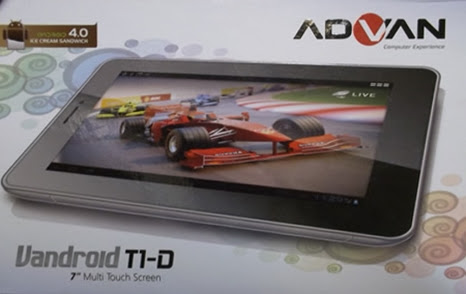 ADVAN Vandroid T1D 7-inch Tablet (WiFi + 3.5G)