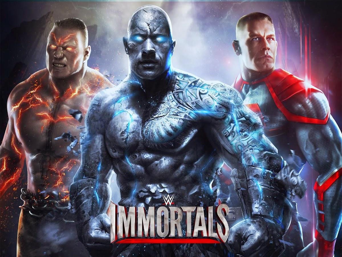 WWE Immortals MOD OBB Android APK