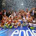 BALONCESTO - Real Madrid supercampeones en el primer clásico de la temporada