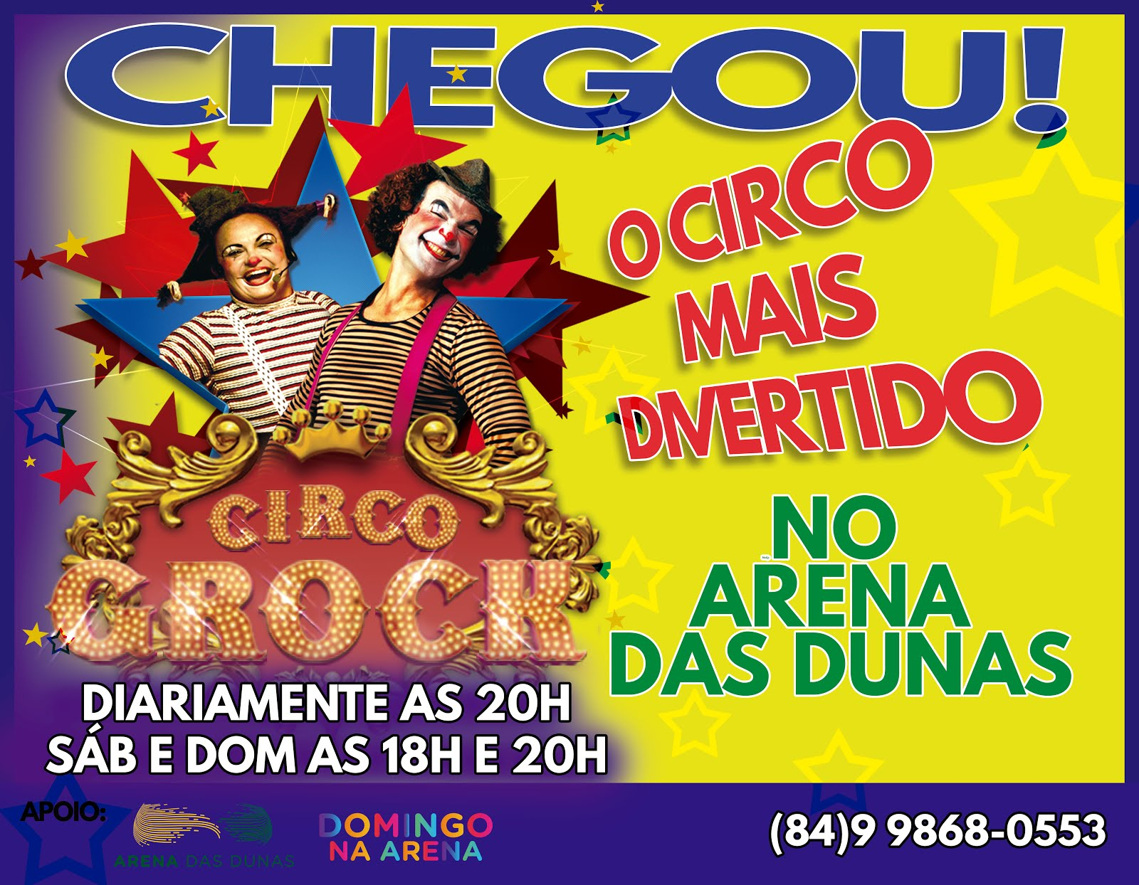 CIRCO GROCK EM NATAL
