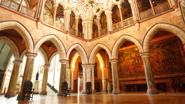 Marble Hall of Mount Stuart House, Isle of Bute