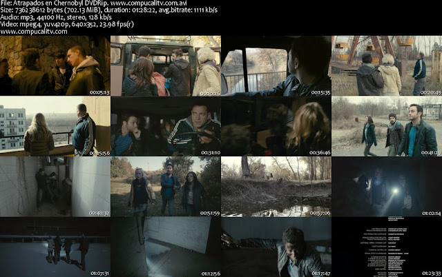 Atrapados en Chernobyl DVDRip Español Latino Descargar 1 Link 2012