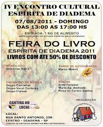 Domingo, 07/08 - IV Encontro Cultural de Diadema