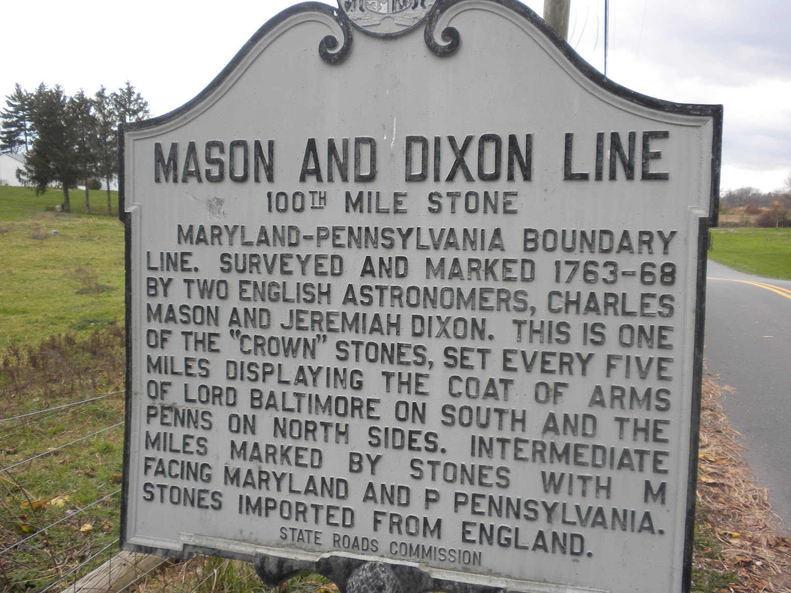 mister tristan where i run the mason dixon line mile