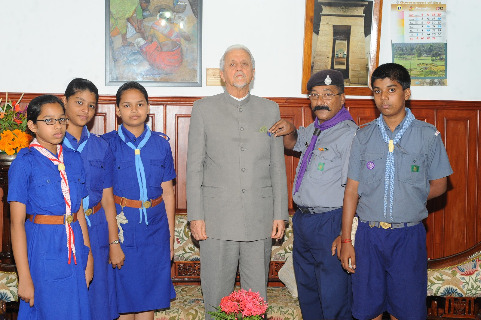 BHARAT SCOUTS AND GUIDES GOA STATE November 2012