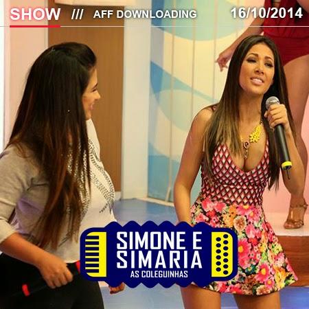 Baixar – Simone e Simaria As Coleguinhas – Carmópolis – SE – 16.10.2014