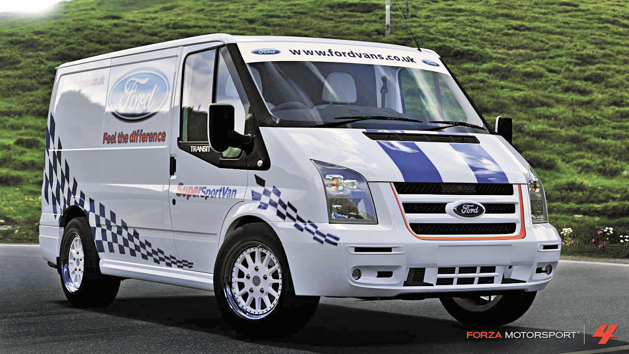 concettomotors  ford transit vira estrela de videogame com