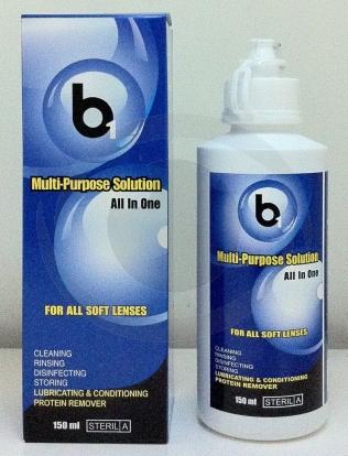 optikku solution cairan pembersih softlens lensa kontak b1 multi purpose mps