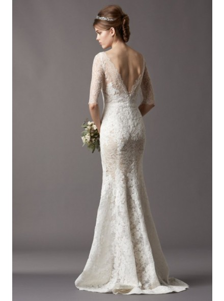 Sand Under My Feet: Timeless Lace Wedding Dresses from Landbridal