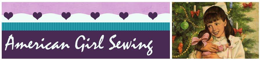 American Girl Sewing