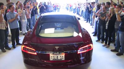 First Tesla Model S delivered to board member Steve Jurvetson