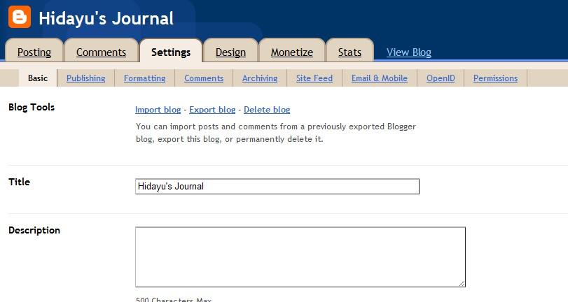 hidayu s journal update guna handphone