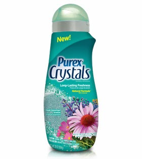 purex crystals fresh mountain breeze giveaway laundry enhancer review