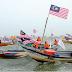Nelayan Terengganu catat rekod dunia bagi  Perarakan Bot Terbesar Dunia dalam Guinness World Records