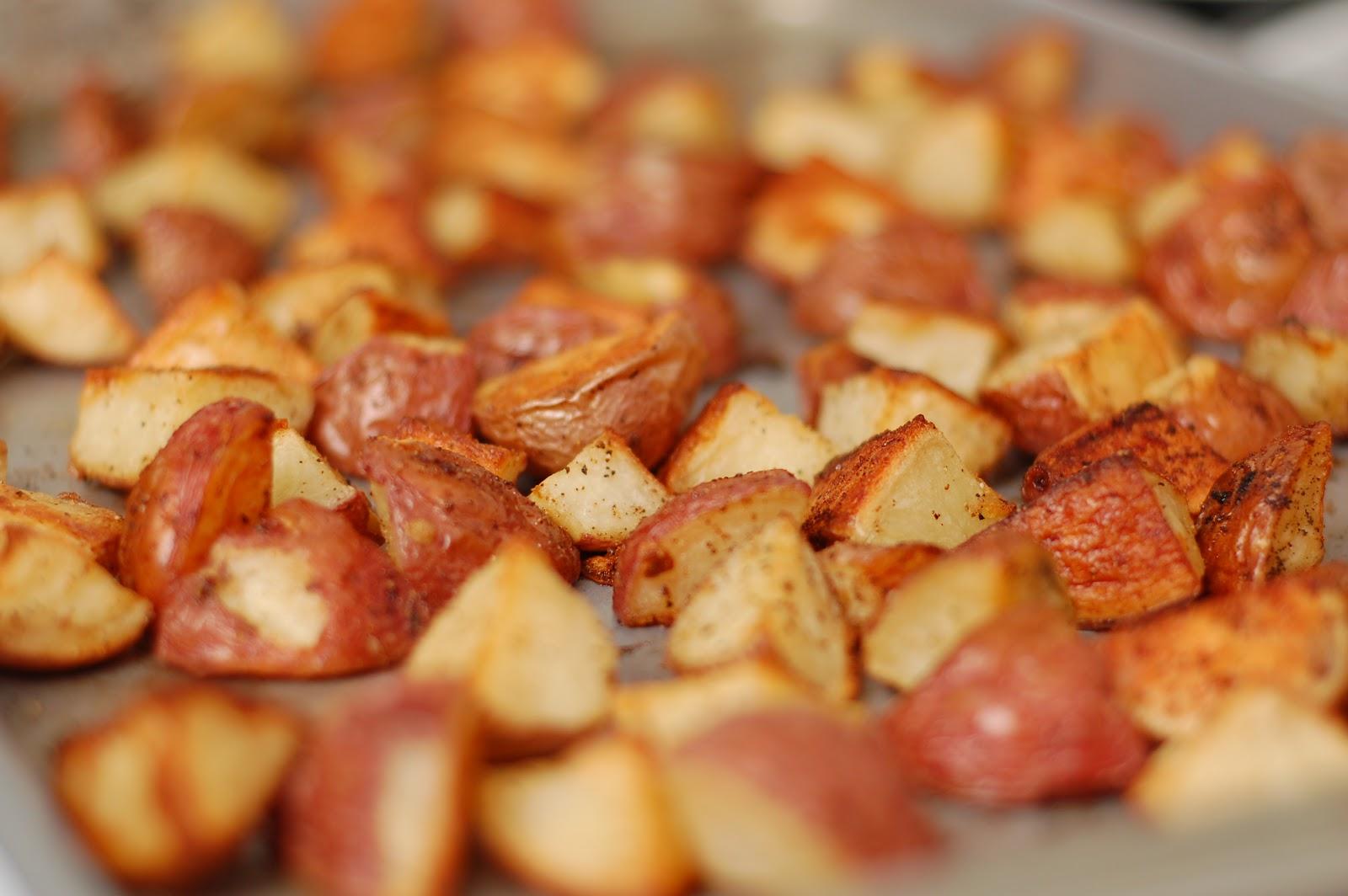 Garlic Red Potatoes Recipe — Dishmaps