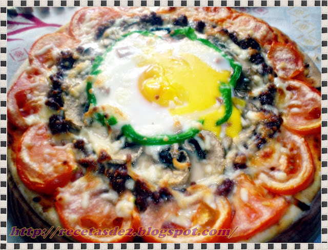 Pizza Arcoiris