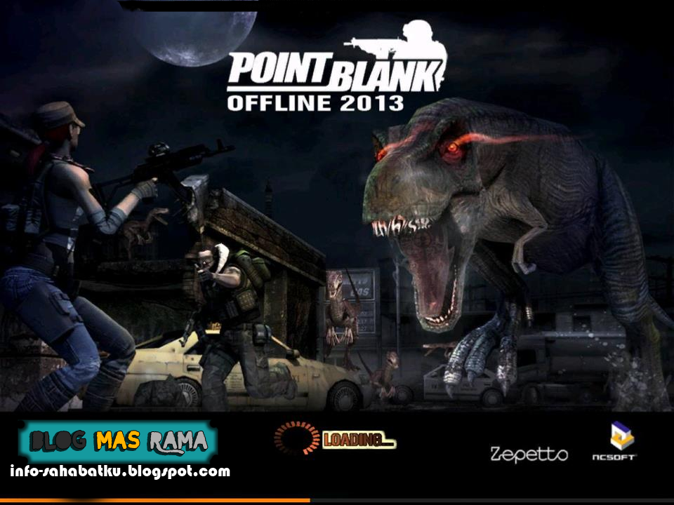 Download Point Blank Offline 2013 New Update + Tutorial Install