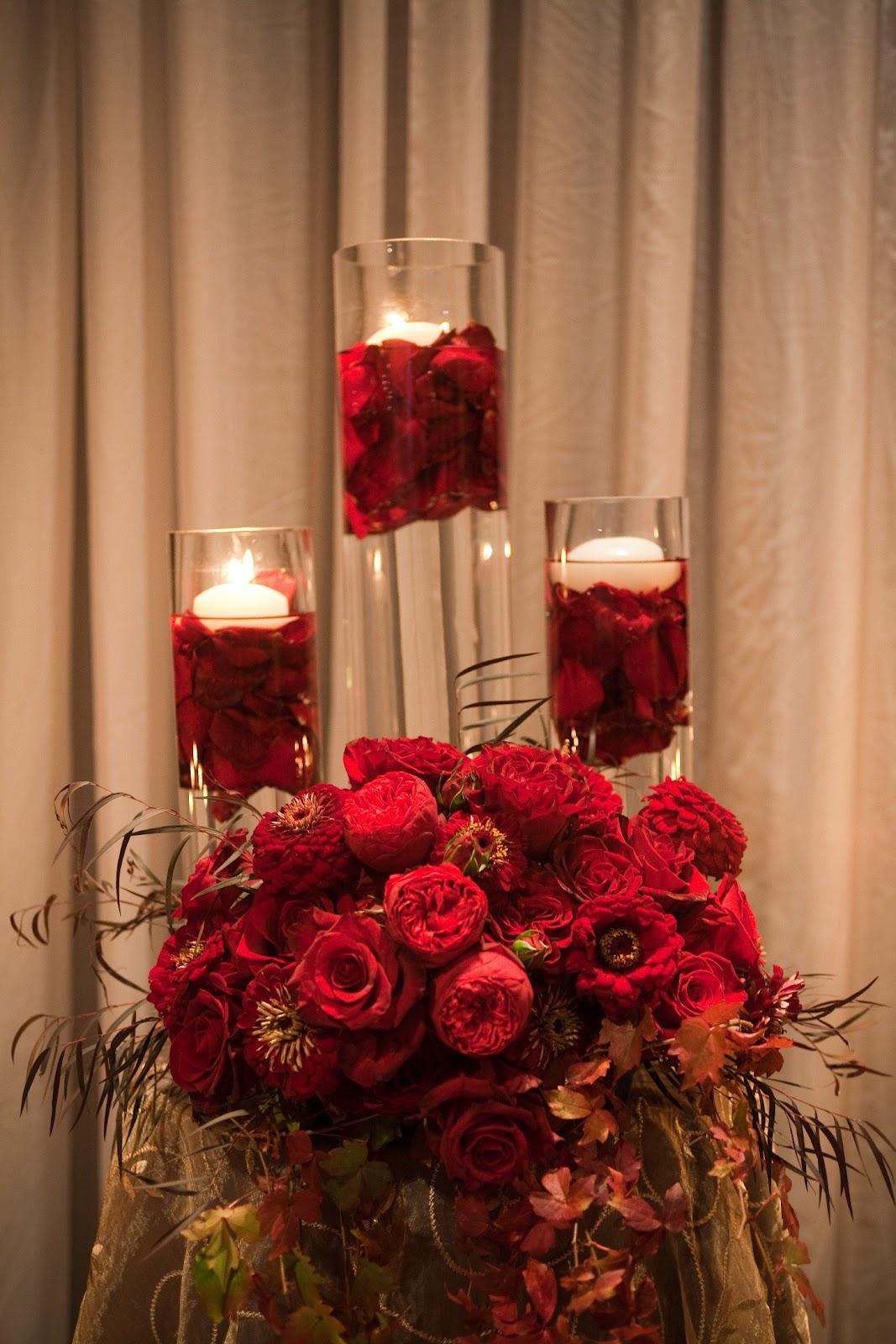 flora nova design the blog a fall wedding in deep red