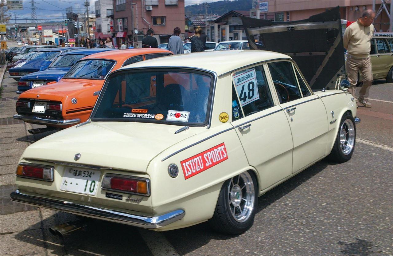Isuzu Bellett stary japoński samochód