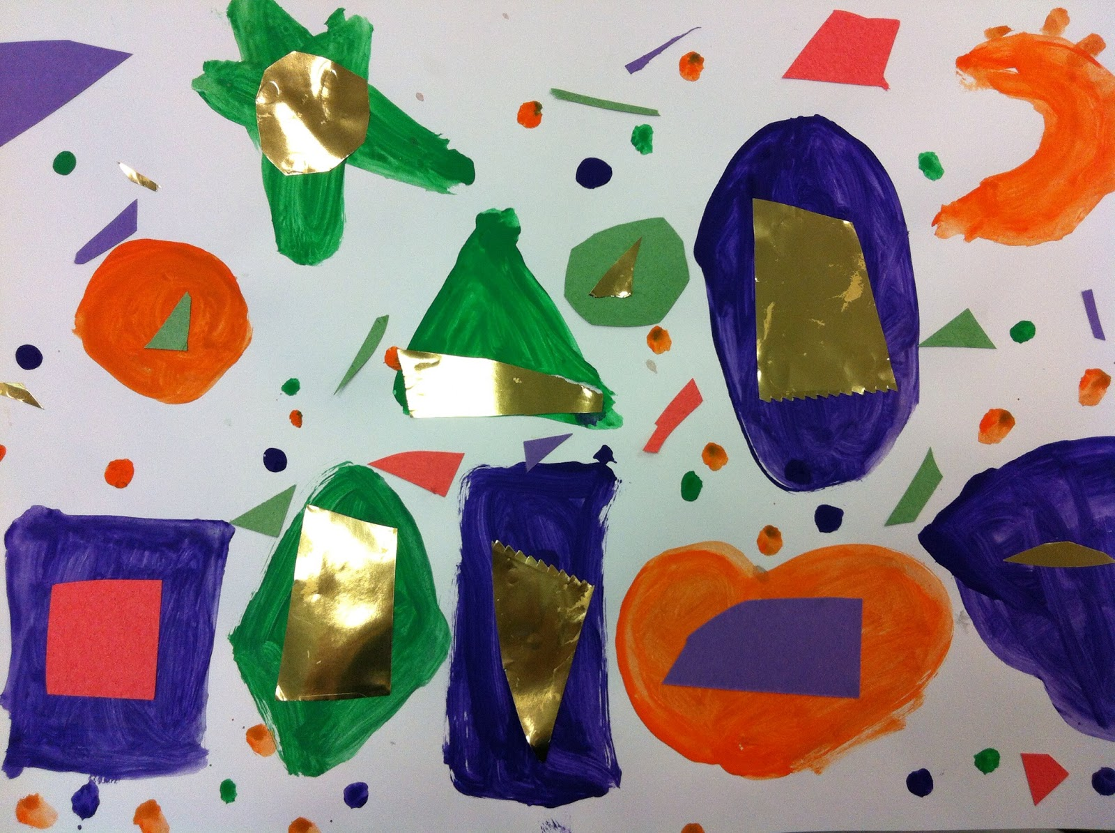 Art Room 104: Kindergarten Secondary Shapes